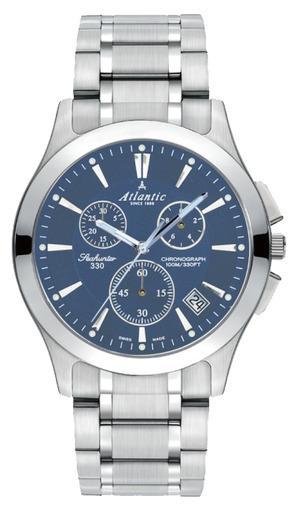 Фото швейцарских часов Мужские швейцарские наручные часы Atlantic Seahunter 71465.41.51