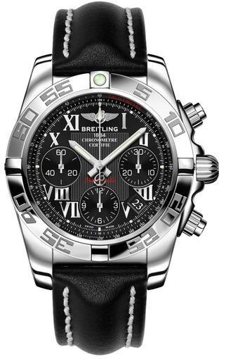 Мужские швейцарские наручные часы Breitling Chronomat 41 AB014012/BC04/218X
