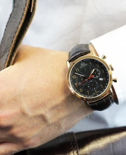Фото швейцарских часов Мужские швейцарские наручные часы 88 Rue Du Rhone Double 8 Origin 87WA120050