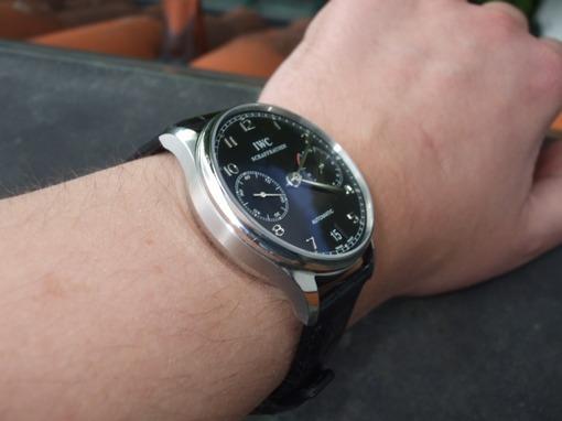 Фото швейцарских часов Мужские швейцарские наручные часы IWC Portuguese IW500106