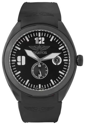 Фото швейцарских часов Мужские швейцарские наручные часы Aviator MIG-25 FOXBAT M.1.05.5.012.4