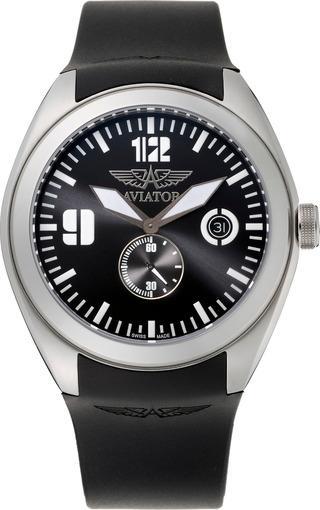 Фото швейцарских часов Мужские швейцарские наручные часы Aviator Mig-25 Foxbot M.1.05.5.012.6
