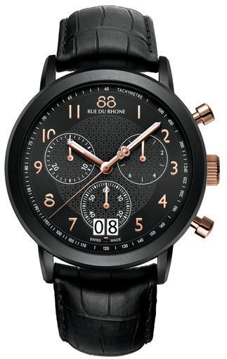 Фото швейцарских часов Мужские швейцарские наручные часы 88 Rue Du Rhone Double 8 Origin 87WA130023