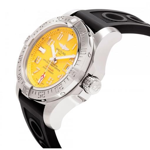 Фото швейцарских часов Мужские швейцарские наручные часы Breitling Avenger seawolf A1733110/I519/200S