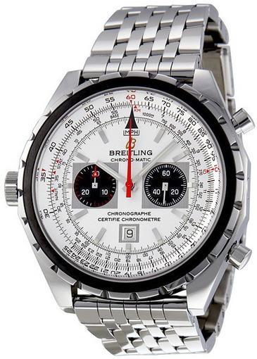 Фото швейцарских часов Мужские швейцарские наручные часы Breitling Navitimer A4136012/G589/433A