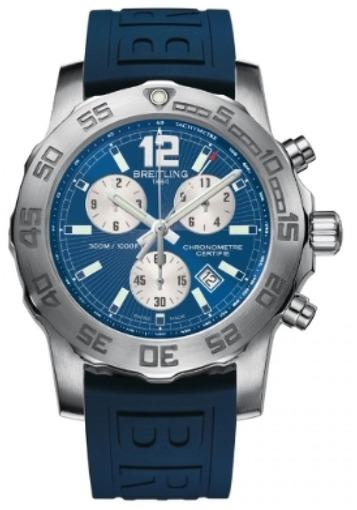 Мужские швейцарские наручные часы Breitling Colt Chronograph II A7338710/C848/157S
