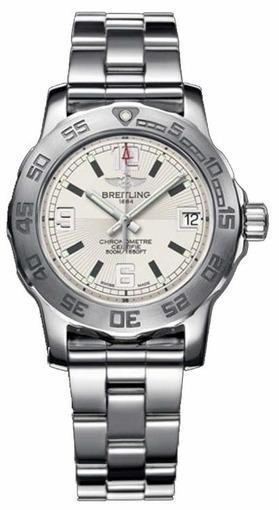 Женские швейцарские наручные часы Breitling Colt 33 A7738711/G744/158A