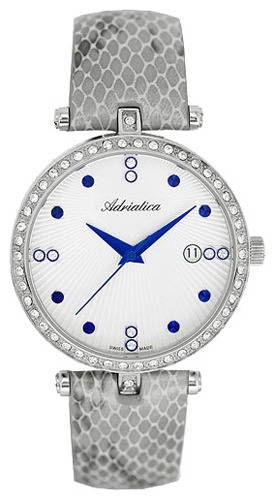 Женские часы Adriatica A3692.52B3QZ Мужские часы Wainer WA.12440-G