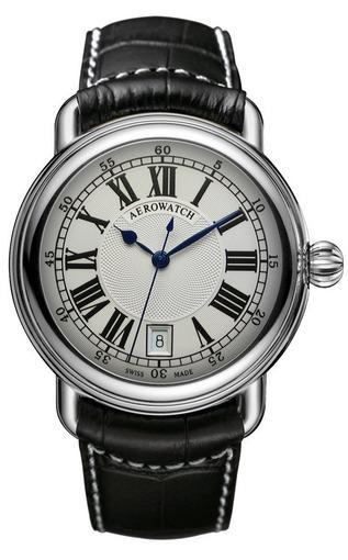 Фото швейцарских часов Мужские швейцарские наручные часы Aerowatch 1942 24924 AA01