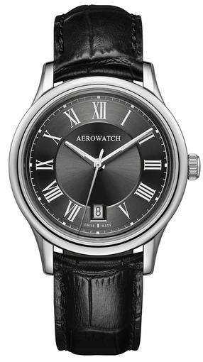 Фото швейцарских часов Мужские швейцарские наручные часы Aerowatch Les Grandes Classiques 24962 AA02