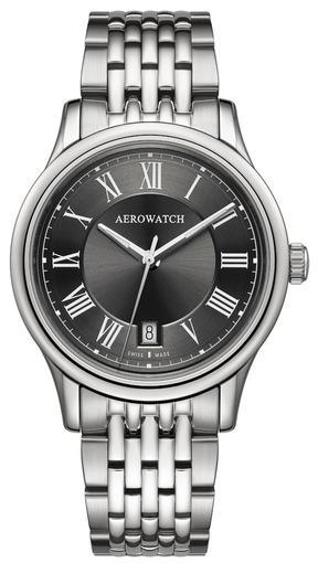 Фото швейцарских часов Мужские швейцарские наручные часы Aerowatch Les Grandes Classiques 24962 AA02 M