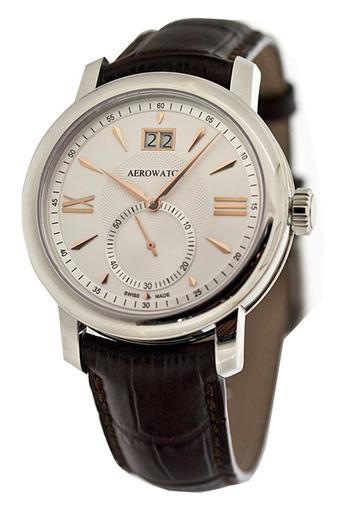 Фото швейцарских часов  швейцарские наручные часы Aerowatch Renaissance Big Date 41937 AA04