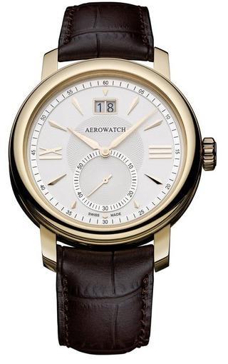 Фото швейцарских часов Мужские швейцарские наручные часы Aerowatch Renaissance 41937 RO04