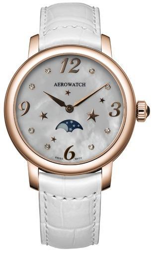 Фото швейцарских часов Женские швейцарские наручные часы Aerowatch Renaissance 43938 RO09