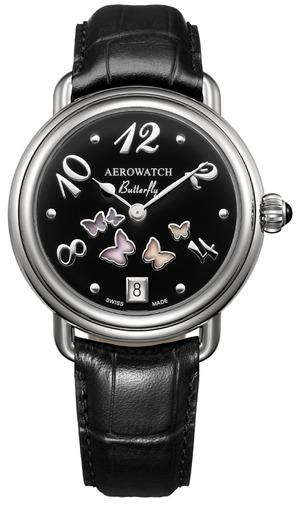 Фото швейцарских часов  швейцарские наручные часы Aerowatch Lady Butterfly 44960 AA03