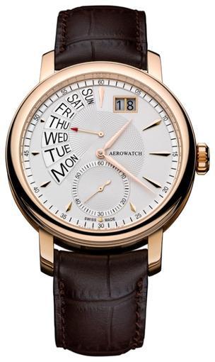 Фото швейцарских часов Мужские швейцарские наручные часы Aerowatch Renaissance 46941 RO02