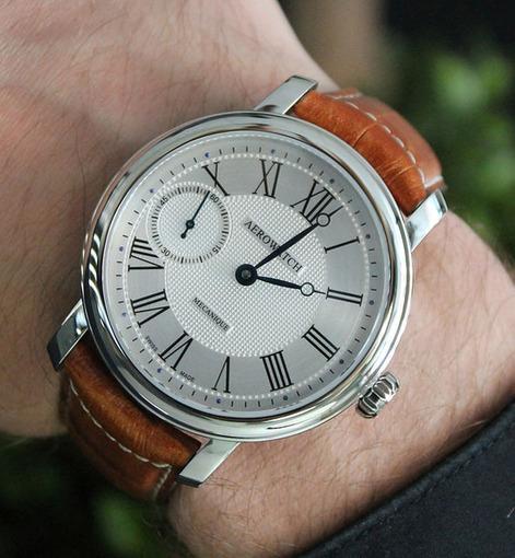 Фото швейцарских часов Мужские швейцарские наручные часы Aerowatch Renaissance 50931 AA06