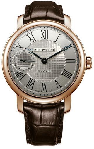 Фото швейцарских часов Мужские швейцарские наручные часы Aerowatch Renaissance 50931 RO06