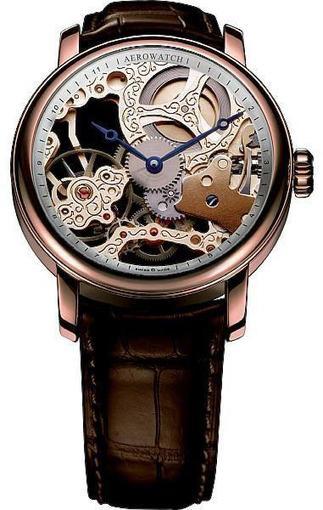 Фото швейцарских часов Мужские швейцарские наручные часы Aerowatch Classic  57931 RO01