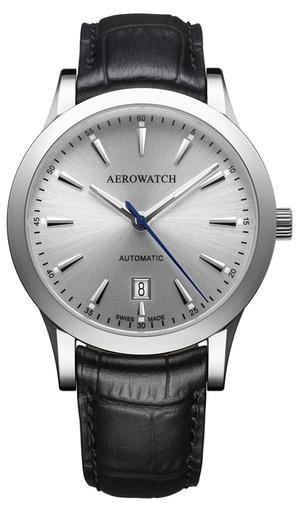 Фото швейцарских часов Мужские швейцарские наручные часы Aerowatch Les Grandes Classiques 60947 AA01