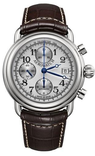 Фото швейцарских часов Мужские швейцарские наручные часы Aerowatch 1942 61901 AA10