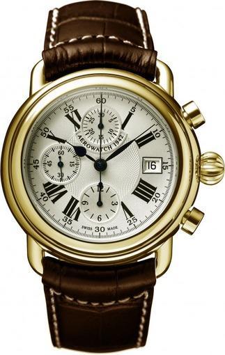 Фото швейцарских часов Мужские швейцарские наручные часы Aerowatch 1942 61901 C101