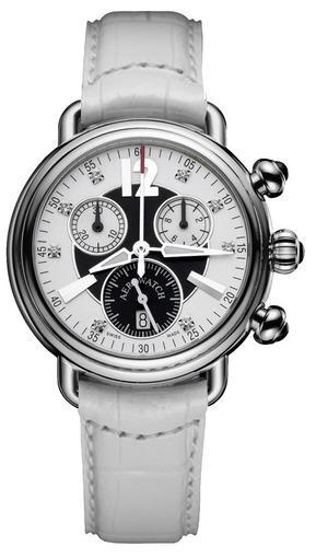 Фото швейцарских часов Женские швейцарские наручные часы Aerowatch 1942 Lady chrono 82905 AA12