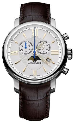 Фото швейцарских часов Мужские швейцарские наручные часы Aerowatch Renaissance 84936 AA02