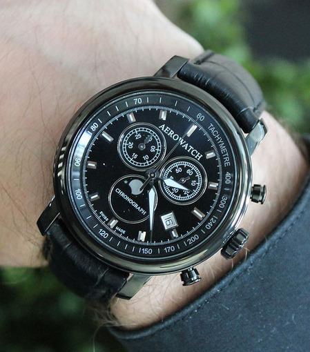Фото швейцарских часов Мужские швейцарские наручные часы Aerowatch Renaissance 84936 NO03