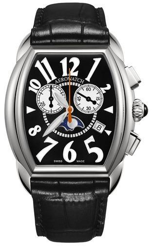 Фото швейцарских часов Мужские швейцарские наручные часы Aerowatch Streamline 84957 AA04