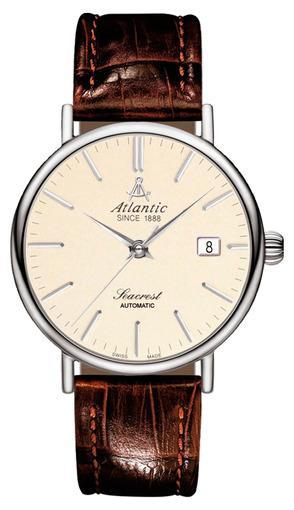 Фото швейцарских часов Мужские швейцарские наручные часы Atlantic Seacrest 50344.41.91