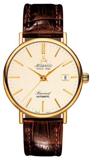 Фото швейцарских часов Мужские швейцарские наручные часы Atlantic Seacrest 50344.45.91
