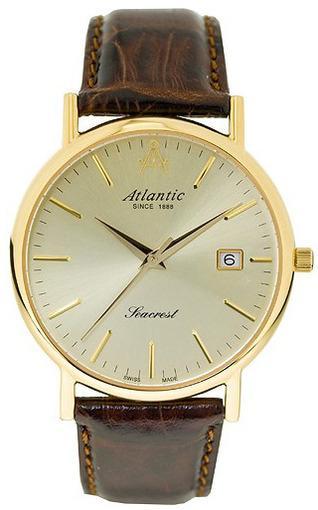 Фото швейцарских часов Мужские швейцарские наручные часы Atlantic Seacrest 50351.45.31