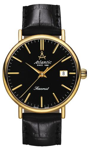 Фото швейцарских часов Мужские швейцарские наручные часы Atlantic Seacrest 50351.45.61