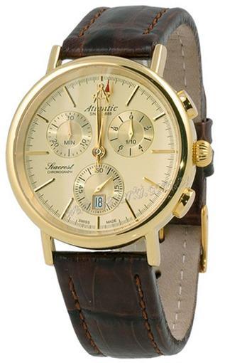 Фото швейцарских часов Мужские швейцарские наручные часы Atlantic Seaport 50441.45.31