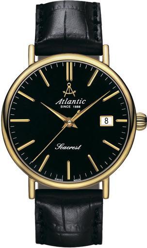 Фото швейцарских часов Мужские швейцарские наручные часы Atlantic Seaport 50741.45.31