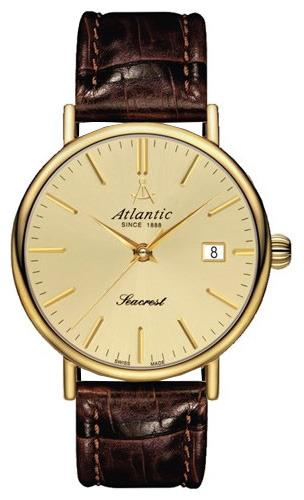 Фото швейцарских часов Мужские швейцарские наручные часы Atlantic Seacrest 50744.45.31
