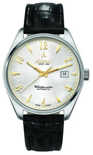 Фото швейцарских часов Мужские швейцарские наручные часы Atlantic WORLDMASTER 51752.41.25G