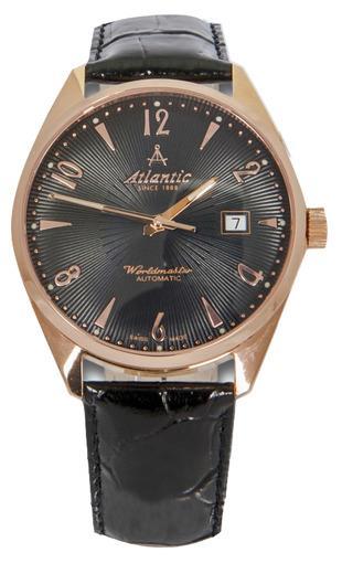 Фото швейцарских часов Мужские швейцарские наручные часы Atlantic WORLDMASTER 51752.44.65R
