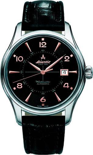 Фото швейцарских часов Мужские швейцарские наручные часы Atlantic WORLDMASTER 52752.41.65R