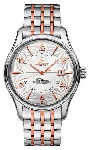 Фото швейцарских часов Мужские швейцарские наручные часы Atlantic WORLDMASTER 52753.41.25RM