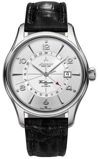 Фото швейцарских часов Мужские швейцарские наручные часы Atlantic WORLDMASTER 52756.41.25R