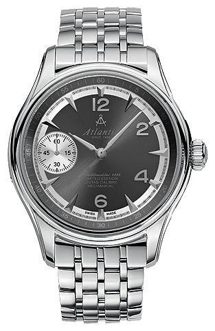 Фото швейцарских часов Мужские швейцарские наручные часы Atlantic Worldmaster 52950.41.45SM