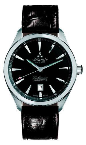 Мужские швейцарские наручные часы Atlantic WORLDMASTER 53750.41.61