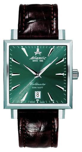 Фото швейцарских часов Мужские швейцарские наручные часы Atlantic WORLDMASTER 54350.41.41R