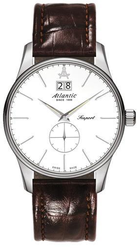 Фото швейцарских часов Мужские швейцарские наручные часы Atlantic WORLDMASTER 56350.41.21