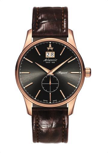 Фото швейцарских часов Мужские швейцарские наручные часы Atlantic Seaport 56350.44.41