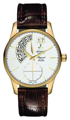 Фото швейцарских часов Мужские швейцарские наручные часы Atlantic Seaport 56351.45.21