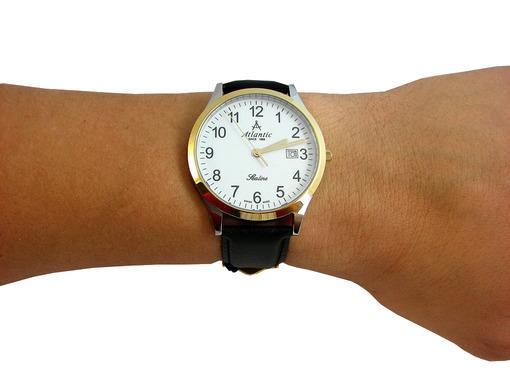 Фото швейцарских часов Мужские швейцарские наручные часы Atlantic Sealine 62341.43.13