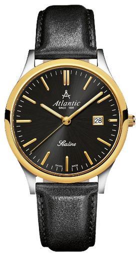 Фото швейцарских часов Мужские швейцарские наручные часы Atlantic Sealine 62341.43.61